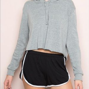 Brandy Melville Lisette Black/White Shorts